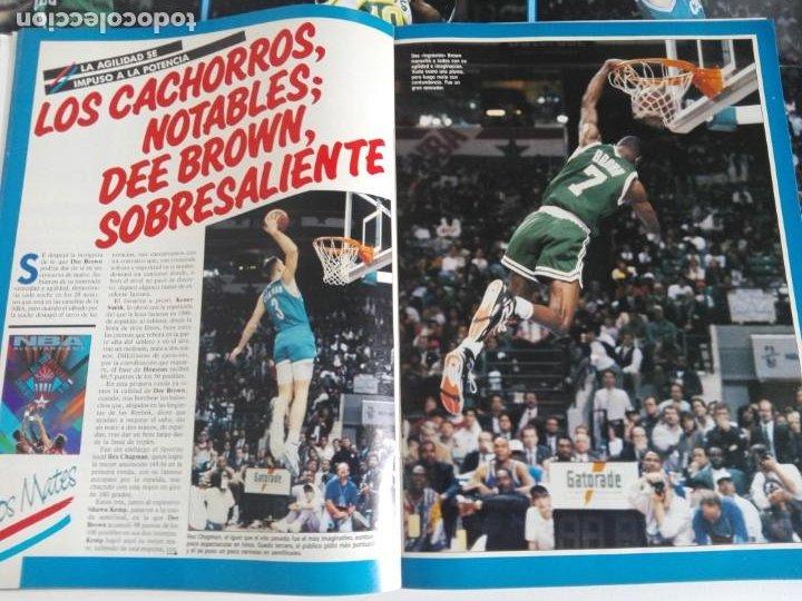 Coleccionismo deportivo: REVISTA GIGANTES DEL BASKET Nº 277 (1991) - EXTRA ALL STAR 91 + DOBLE PÓSTER GIGANTE - Foto 5 - 184058028