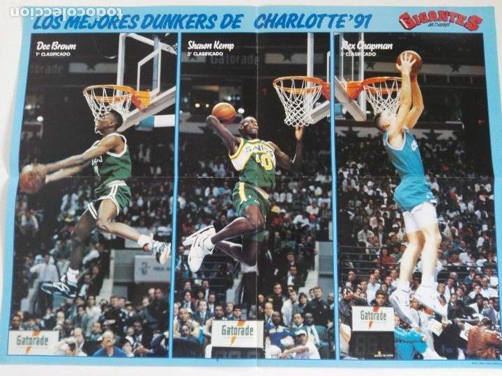 Coleccionismo deportivo: REVISTA GIGANTES DEL BASKET Nº 277 (1991) - EXTRA ALL STAR 91 + DOBLE PÓSTER GIGANTE - Foto 7 - 184058028