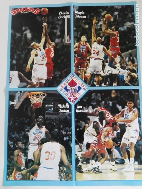 Coleccionismo deportivo: REVISTA GIGANTES DEL BASKET Nº 277 (1991) - EXTRA ALL STAR 91 + DOBLE PÓSTER GIGANTE - Foto 6 - 184058028
