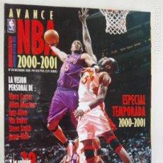 Coleccionismo deportivo: AVANCE NBA 2000/2001 - MONOGRÁFICO REVISTA OFICIAL NBA Nº 20 + POSTER GIGANTE LAKERS CAMPEONES. Lote 184059367