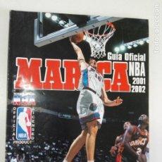 Coleccionismo deportivo: GUÍA OFICIAL NBA 2001/2002 - MARCA - REVISTA OFICIAL NBA. Lote 184059596