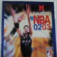 Coleccionismo deportivo: GUÍA OFICIAL NBA 2002/2003 - MARCA - REVISTA OFICIAL NBA. Lote 184059685