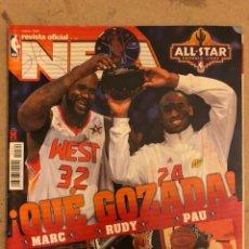 Coleccionismo deportivo: REVISTA OFICIAL NBA N° 199 (MARZO 2009). ESPECIAL ALL STAR PHOENIX (MARC, RUDY, PAU), CHRIS PAUL VS. Lote 184062811
