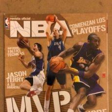 Coleccionismo deportivo: REVISTA OFICIAL NBA N° 177 (MAYO 2007). EMPIEZAN LOS PLAYOFFS, KOBE BRYANT, DIRK NOWITZKI, JASON TER. Lote 184062928