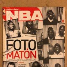 Coleccionismo deportivo: REVISTA OFICIAL NBA N° 176 (ABRIL 2007). LA OTRA CARA DE LAS ESTRELLAS, LOS MEJORES DE LA HISTORIA. Lote 184062951