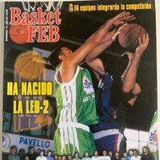 Coleccionismo deportivo: REVISTA BASKET FEB Nº 17. Lote 184009696
