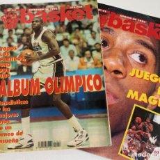 Coleccionismo deportivo: DON BASKET Nº 42 (SEP 92) - ÁLBUM OLÍMPICO JJOO BARCELONA 92 + PÓSTER DREAM TEAM. Lote 184103321
