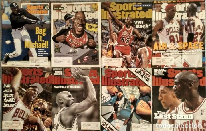 Coleccionismo deportivo: Michael Jordan - Colección de 17 revistas americanas ''Sports Illustrated'' (1990-1998) - NBA - Foto 2 - 94283445