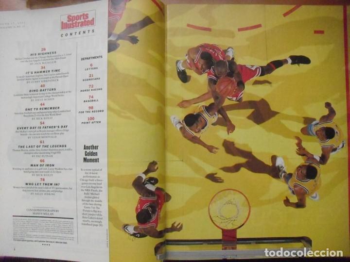 Coleccionismo deportivo: Michael Jordan - Colección de 17 revistas americanas ''Sports Illustrated'' (1990-1998) - NBA - Foto 3 - 94283445