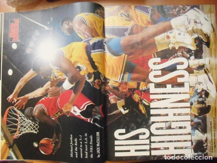 Coleccionismo deportivo: Michael Jordan - Colección de 17 revistas americanas ''Sports Illustrated'' (1990-1998) - NBA - Foto 4 - 94283445