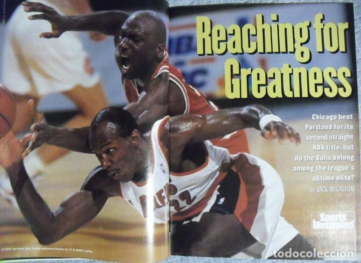 Coleccionismo deportivo: Michael Jordan - Colección de 17 revistas americanas ''Sports Illustrated'' (1990-1998) - NBA - Foto 5 - 94283445