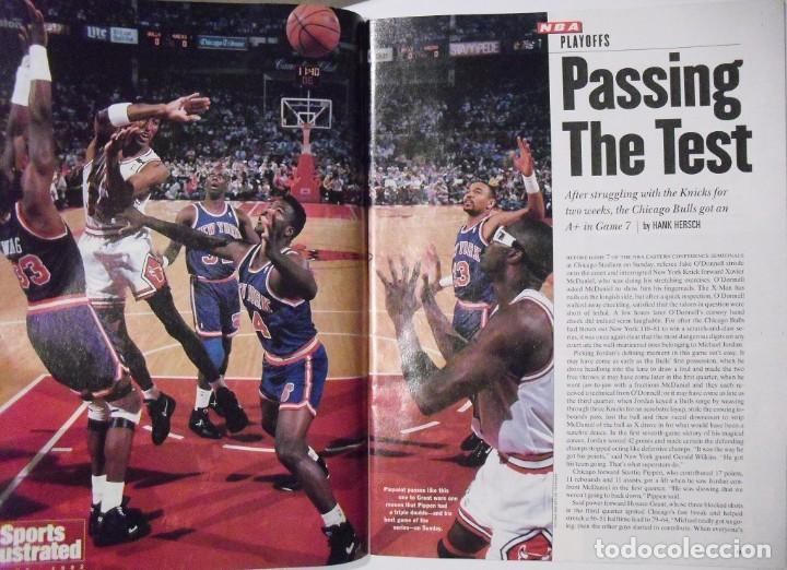 Coleccionismo deportivo: Michael Jordan - Colección de 17 revistas americanas ''Sports Illustrated'' (1990-1998) - NBA - Foto 9 - 94283445