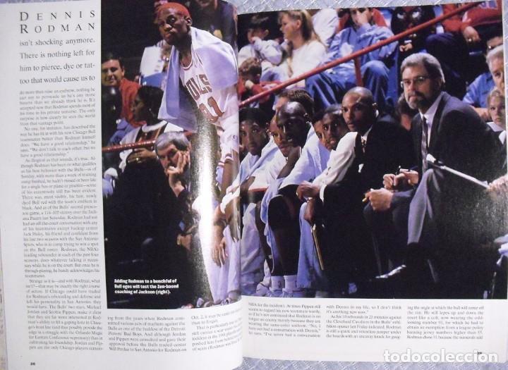 Coleccionismo deportivo: Michael Jordan - Colección de 17 revistas americanas ''Sports Illustrated'' (1990-1998) - NBA - Foto 10 - 94283445