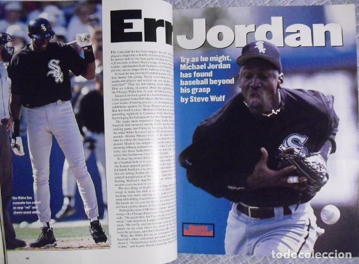 Coleccionismo deportivo: Michael Jordan - Colección de 17 revistas americanas ''Sports Illustrated'' (1990-1998) - NBA - Foto 11 - 94283445