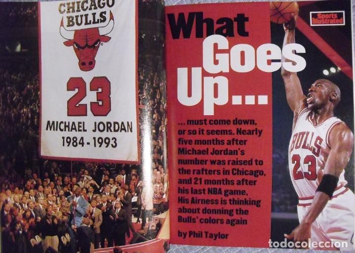 Coleccionismo deportivo: Michael Jordan - Colección de 17 revistas americanas ''Sports Illustrated'' (1990-1998) - NBA - Foto 12 - 94283445