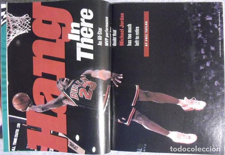 Coleccionismo deportivo: Michael Jordan - Colección de 17 revistas americanas ''Sports Illustrated'' (1990-1998) - NBA - Foto 13 - 94283445