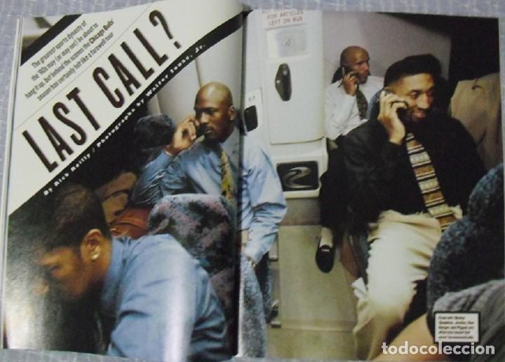 Coleccionismo deportivo: Michael Jordan - Colección de 17 revistas americanas ''Sports Illustrated'' (1990-1998) - NBA - Foto 14 - 94283445
