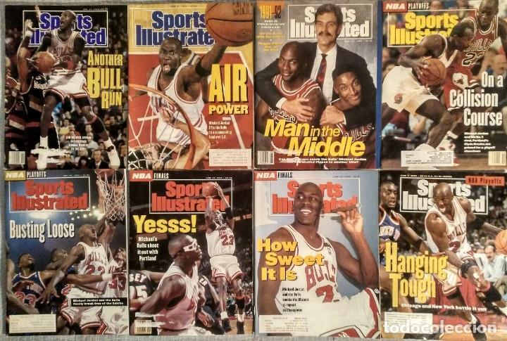 MICHAEL JORDAN - COLECCIÓN DE 17 REVISTAS AMERICANAS ''SPORTS ILLUSTRATED'' (1990-1998) - NBA (Coleccionismo Deportivo - Revistas y Periódicos - otros Deportes)