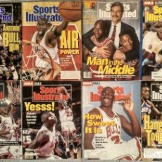 Coleccionismo deportivo: MICHAEL JORDAN - COLECCIÓN DE 17 REVISTAS AMERICANAS ''SPORTS ILLUSTRATED'' (1990-1998) - NBA. Lote 94283445