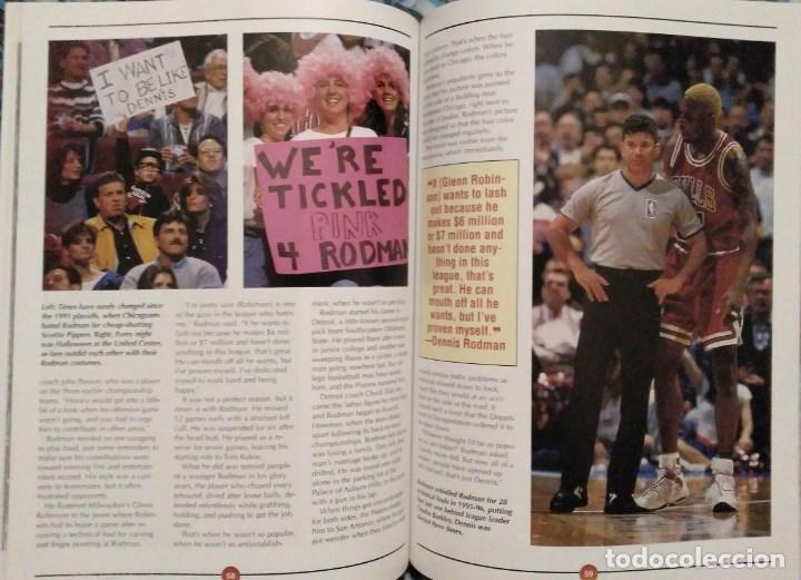 Coleccionismo deportivo: Michael Jordan - Libro/revista Raging Bulls - Cuarto anillo (1996) - NBA - Foto 8 - 184232372