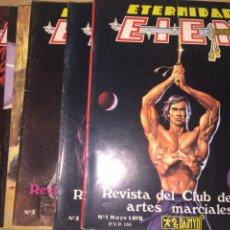 Coleccionismo deportivo: ETERNIDAD EIEN COLECCIÓN COMPLETA. 7 NÚM . AÑO 1978. Lote 184243368
