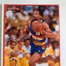 Coleccionismo deportivo: PEGATINA NBA - FAT LEVER / PEGATINA Nº 7 (GIGANTES DEL BASKET Nº 138 / JUNIO 1988). Lote 184390160