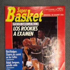 Coleccionismo deportivo: BALONCESTO SÚPER BASKET. NO.11, POSTER DE JEROME KERSEY (20 DE DICIEMBRE DE 1989). Lote 184451841