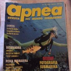 Coleccionismo deportivo: COLECCIÓN DE ANTIGUAS REVISTAS APNEA. Lote 184476417