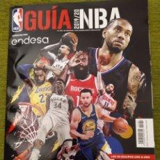 Coleccionismo deportivo: GUIA NBA 2019/20. GIGANTES DEL BASKET.. Lote 184787091