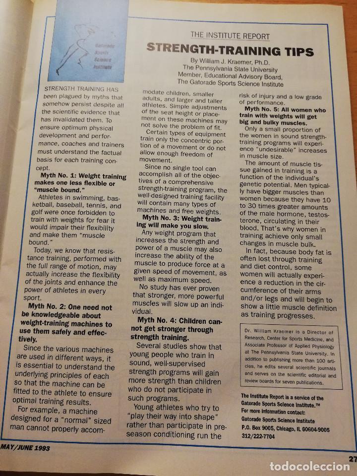 Coleccionismo deportivo: SCHOLASTIC COACH FOR THE COACH AND ATHLETIC DIRECTOR (MAY / JUNE 1993, VOL. 62 NO. 10) - Foto 5 - 185937821