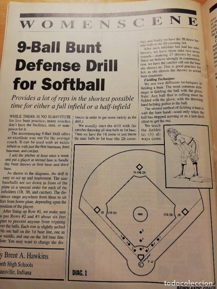 Coleccionismo deportivo: SCHOLASTIC COACH FOR THE COACH AND ATHLETIC DIRECTOR (MAY / JUNE 1993, VOL. 62 NO. 10) - Foto 6 - 185937821
