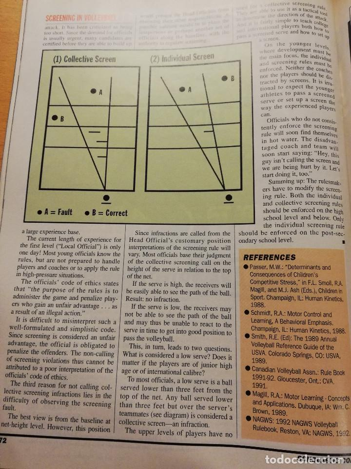 Coleccionismo deportivo: SCHOLASTIC COACH FOR THE COACH AND ATHLETIC DIRECTOR (MAY / JUNE 1993, VOL. 62 NO. 10) - Foto 8 - 185937821