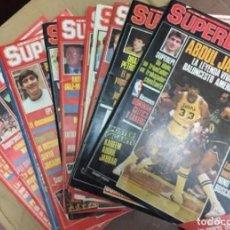 Coleccionismo deportivo: REVISTAS ''SUPERBASKET'' - 12 PRIMEROS NÚMEROS (1986-1987). Lote 185938146