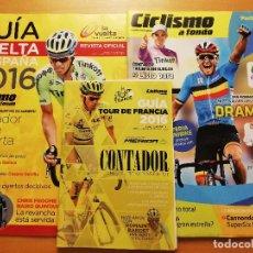 Coleccionismo deportivo: REVISTA CICLISMO A FONDO Nº 382 (AÑO 2016) + GUÍA VUELTA A ESPAÑA 2016. Lote 185952431