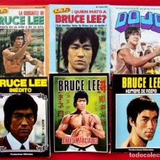 Coleccionismo deportivo: LOTE DE BRUCE LEE. DOJO. JACKIE CHAN. . Lote 186179672