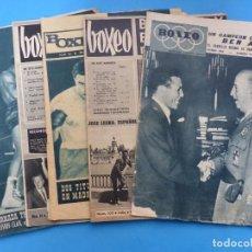 Coleccionismo deportivo: BOXEO, 6 ANTIGUAS REVISTAS, AÑOS 1960, FRANCO - VER FOTOS ADICIONALES. Lote 186392047