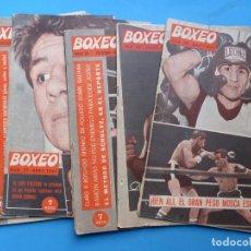 Coleccionismo deportivo: BOXEO, 8 ANTIGUAS REVISTAS, AÑO 1961 - VER FOTOS ADICIONALES. Lote 186392862