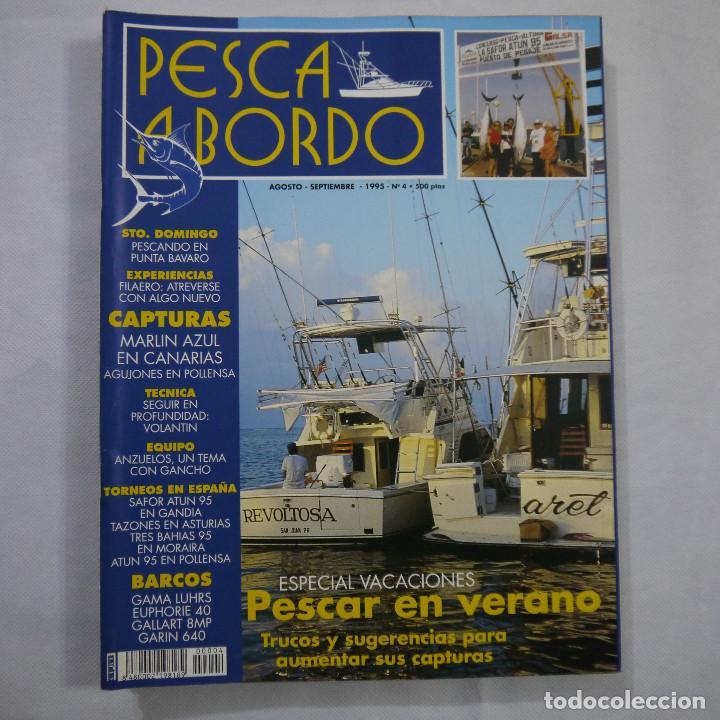Coleccionismo deportivo: LOTE 6 REVISTAS DE PESCA A BORDO - Foto 4 - 187455156