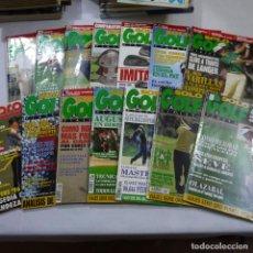 Coleccionismo deportivo: LOS DE 14 REVISTAS: 13 DE SOLO GOLF Y UNA DE APPROACH . Lote 187456031