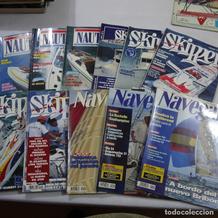 LOTE DE 11 REVISTAS: 3 DE NAUTICA, 3 DE NAVEGAR Y 5 DE SKIPPER (Coleccionismo Deportivo - Revistas y Periódicos - otros Deportes)