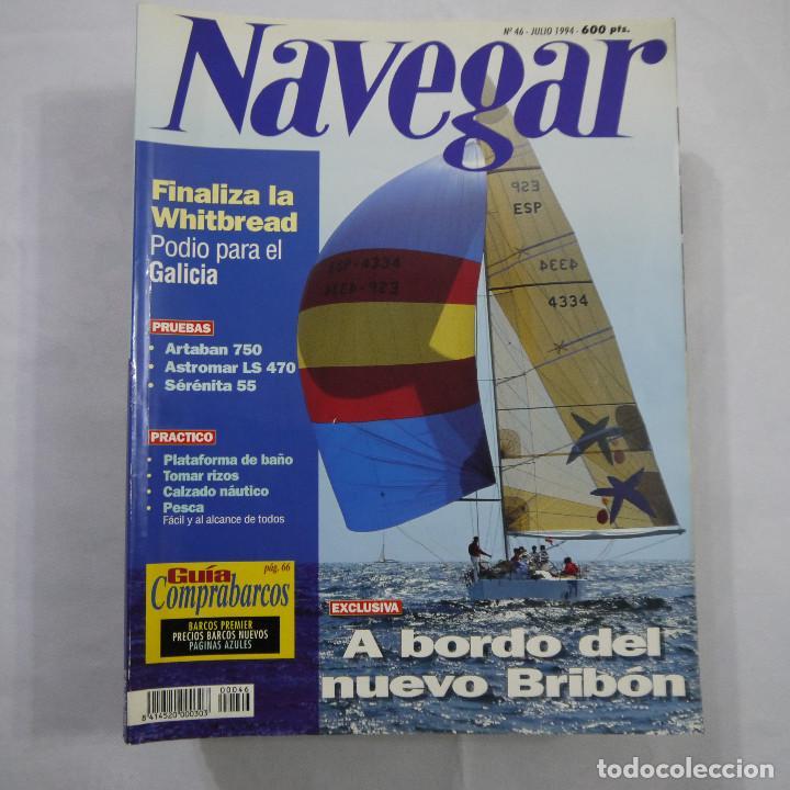Coleccionismo deportivo: LOTE DE 11 REVISTAS: 3 DE NAUTICA, 3 DE NAVEGAR Y 5 DE SKIPPER - Foto 2 - 187456098