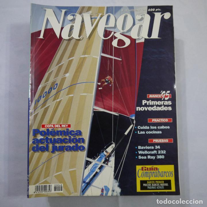 Coleccionismo deportivo: LOTE DE 11 REVISTAS: 3 DE NAUTICA, 3 DE NAVEGAR Y 5 DE SKIPPER - Foto 4 - 187456098