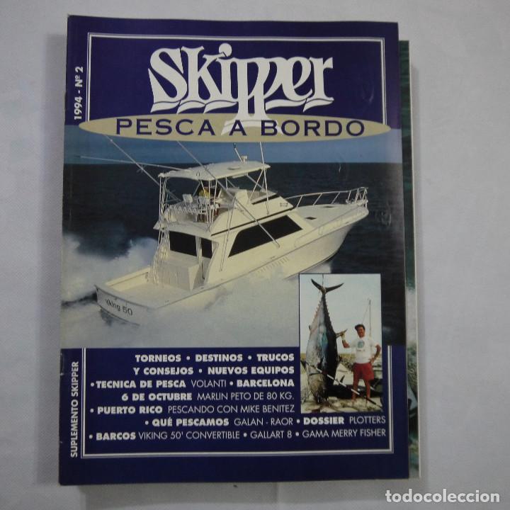 Coleccionismo deportivo: LOTE DE 11 REVISTAS: 3 DE NAUTICA, 3 DE NAVEGAR Y 5 DE SKIPPER - Foto 9 - 187456098
