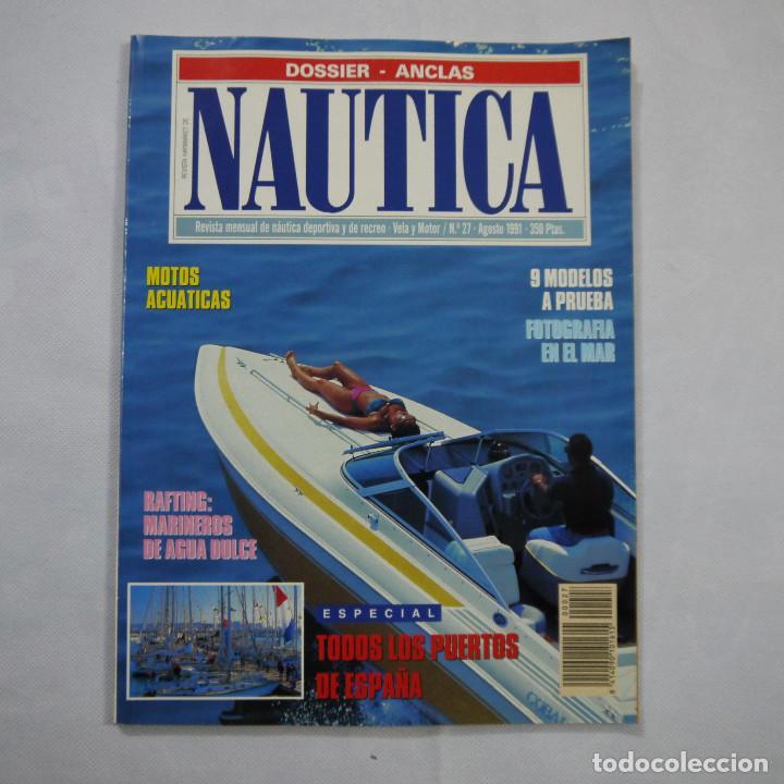 Coleccionismo deportivo: LOTE DE 11 REVISTAS: 3 DE NAUTICA, 3 DE NAVEGAR Y 5 DE SKIPPER - Foto 12 - 187456098