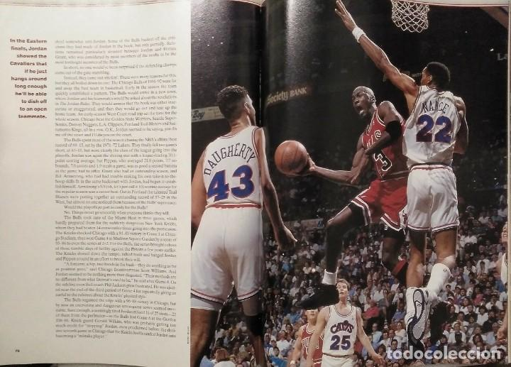 Coleccionismo deportivo: Michael Jordan - Revista especial de Sports illustrated (1993) - Tercer anillo - NBA - Foto 4 - 44056198