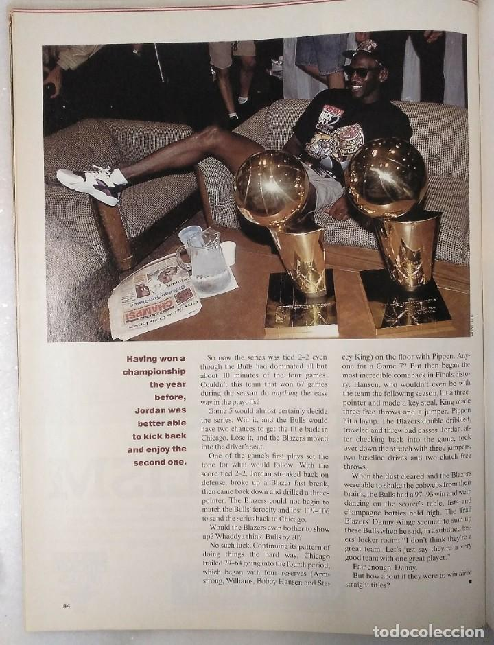 Coleccionismo deportivo: Michael Jordan - Revista especial de Sports illustrated (1993) - Tercer anillo - NBA - Foto 5 - 44056198