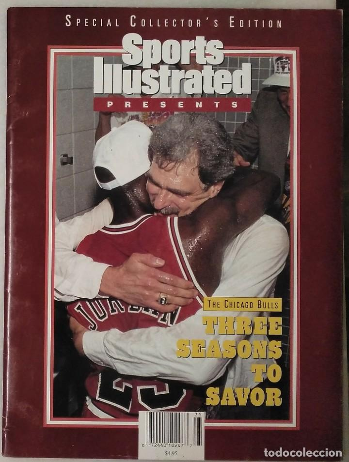 Coleccionismo deportivo: Michael Jordan - Revista especial de Sports illustrated (1993) - Tercer anillo - NBA - Foto 1 - 44056198