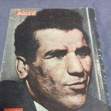 Coleccionismo deportivo: BEN ALÍ ARCHIE MOORE REVISTA BOXEO 1961. Lote 188319522