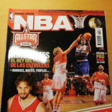 Coleccionismo deportivo: REVISTA OFICIAL NBA Nº 163. EL SUEÑO DE GASOL EN HOUSTON (INCLUYE PÓSTER PAU GASOL ALL STAR). Lote 189272953