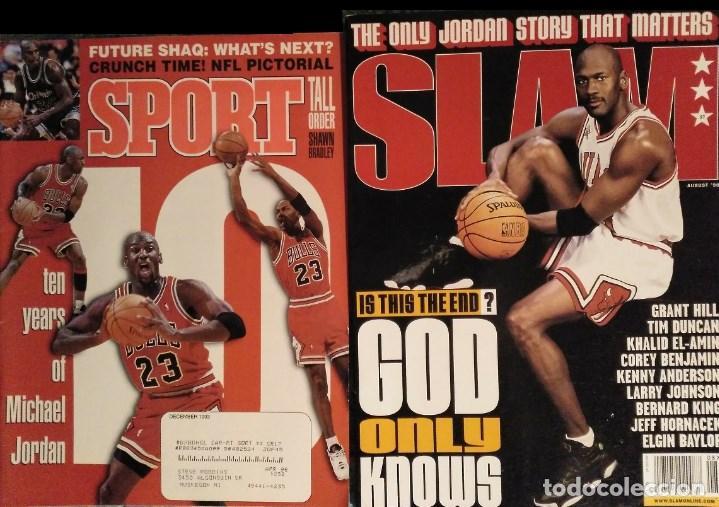 MICHAEL JORDAN - REVISTAS AMERICANAS ''SPORT'' (1993) Y ''SLAM'' (1998) - NBA (Coleccionismo Deportivo - Revistas y Periódicos - otros Deportes)